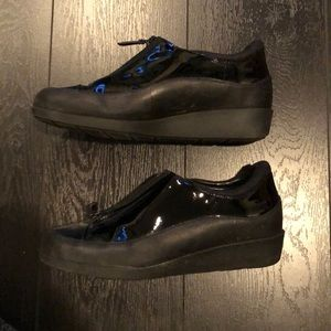 Cole Haan Shoes - Cole Haan Zip Patent Rain Booties